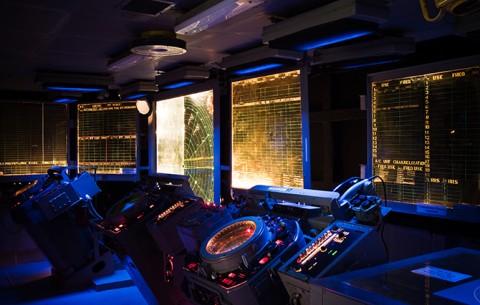 USS Hornet CIC