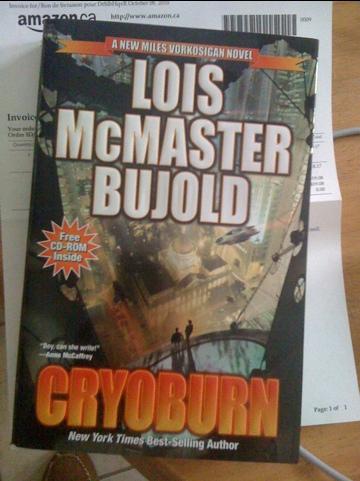 Lois McMaster Bujold's latest novel, Cryoburn