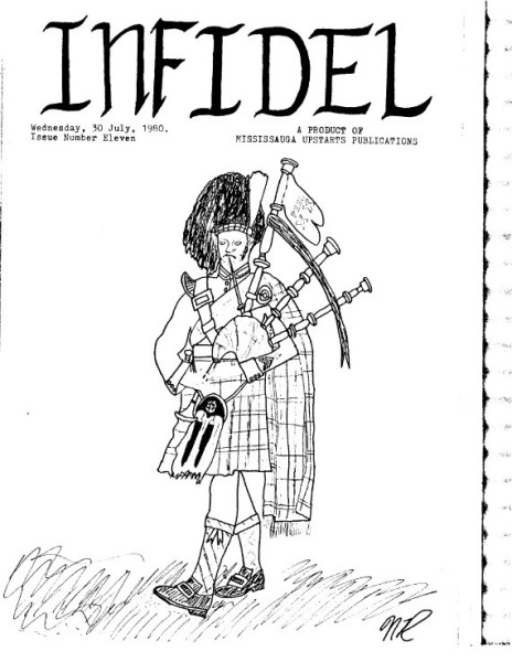 Infidel 11 cover