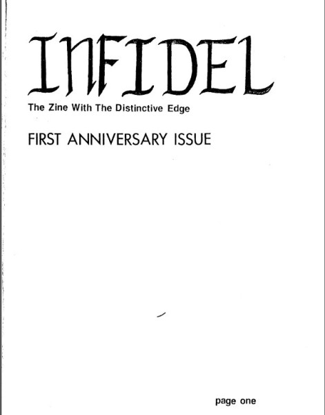 Infidel 12 cover