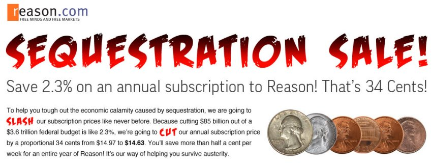 Reason Sequestration Sale