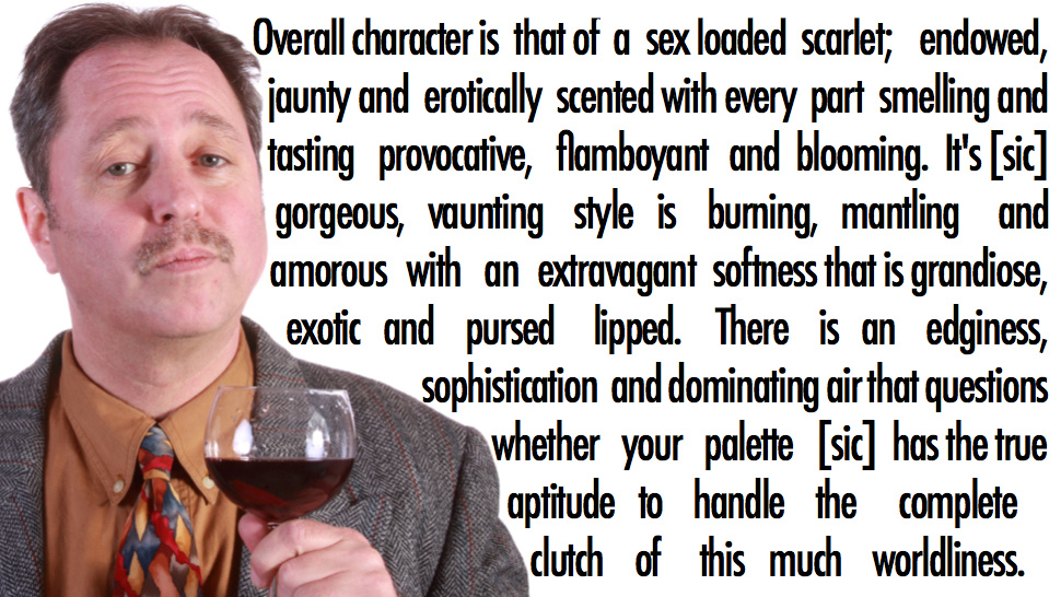 A real wine review