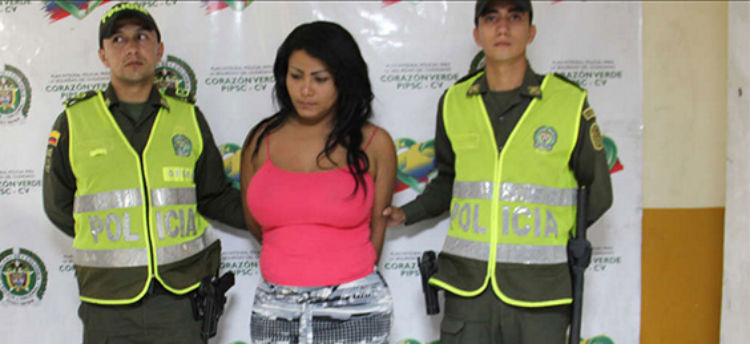 Colombian transgender criminal