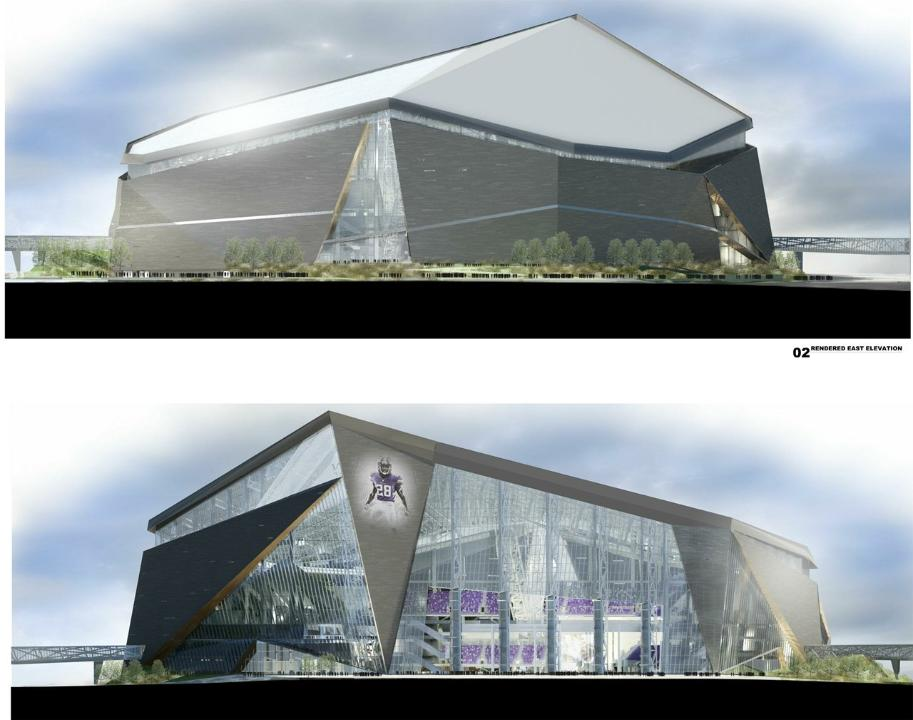 New Vikings stadium 1
