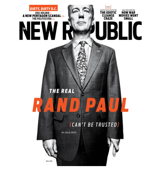 TNR Rand Paul cover
