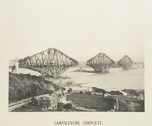 Cantilevers Complete, 9th July 1889