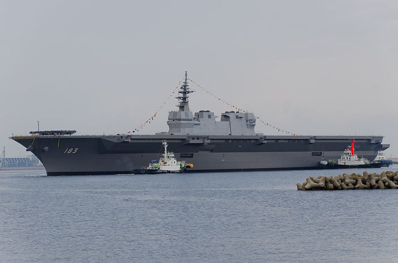 JS Izumo DDH-183