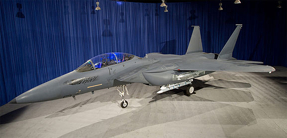 Mockup of the F-15SE Silent Eagle