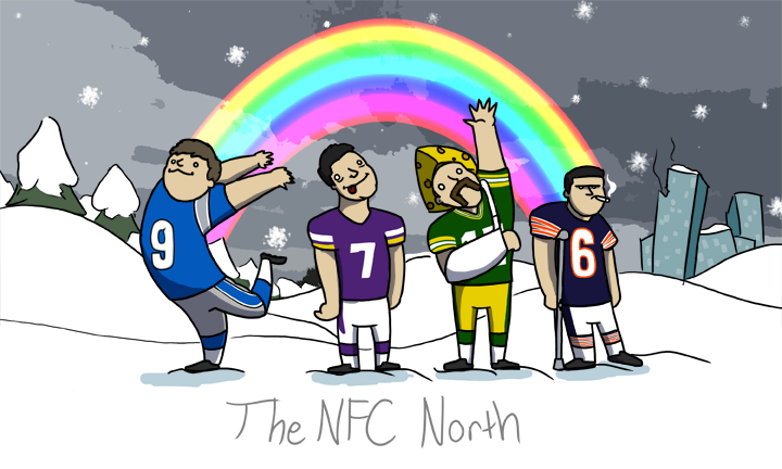 DrawPlayDave - The NFC North