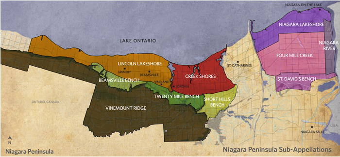 Niagara Peninsula Sub-Appellations