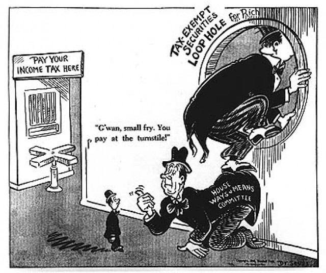 WW2-era political cartoon by Theodor Geisel