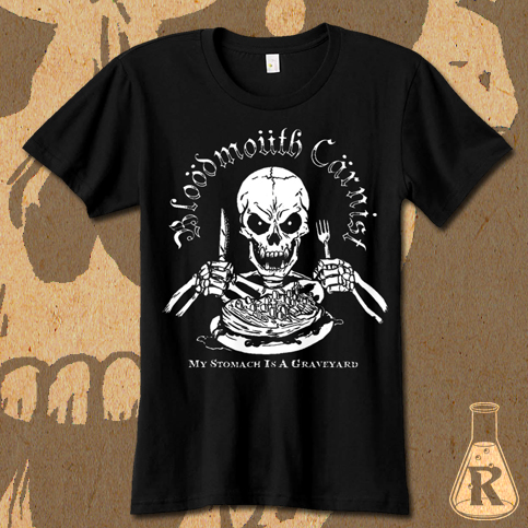Bloodmouth Carnist t-shirt