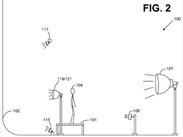 Amazon - Studio Arrangement patent