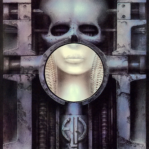 ELP - Brain Salad Surgery cover by HR Giger