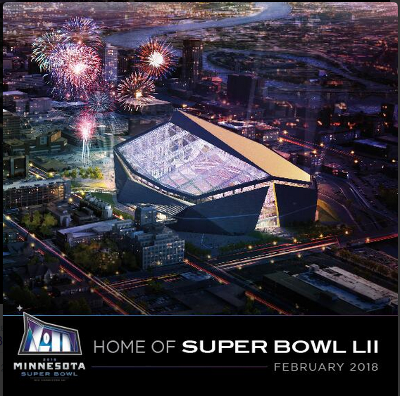 Minnesota - Home of Super Bowl LII