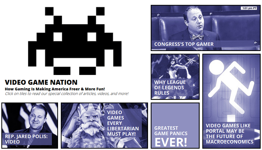 Reason's Video Game Nation page