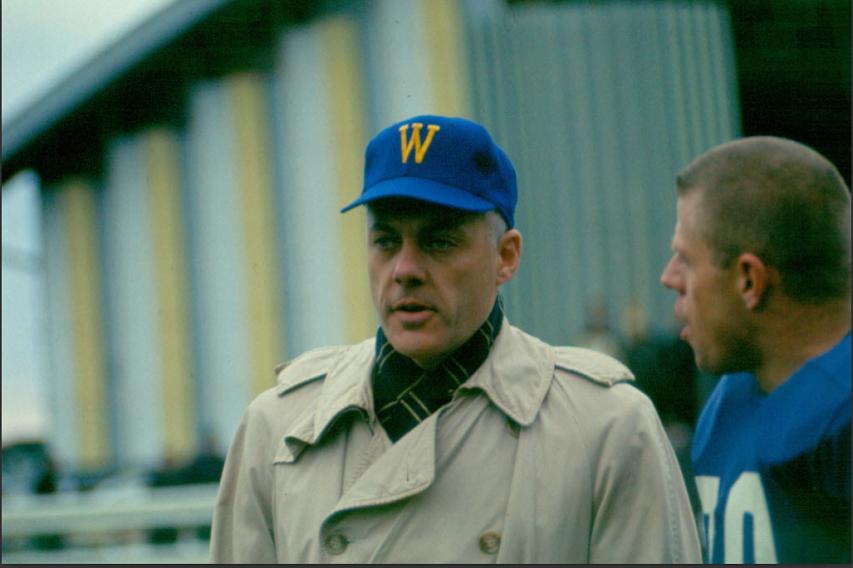 Bud Grant - Winnipeg Blue Bomber coach