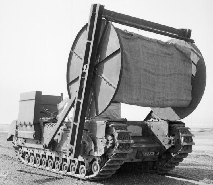 Churchill AVRE Bobbin tank