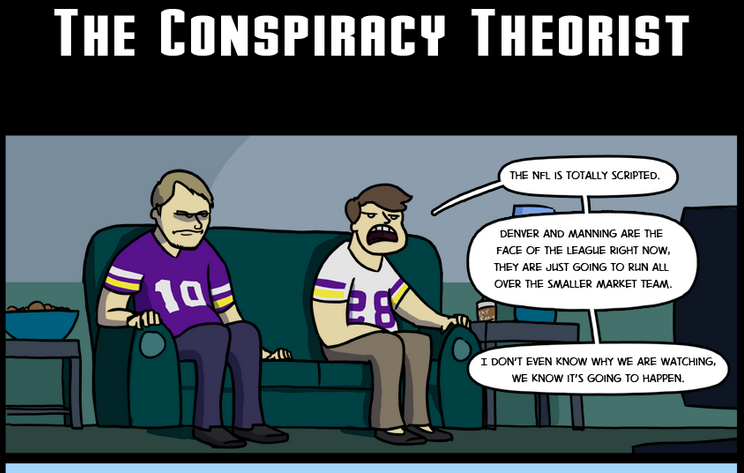 Draw Play - The Conspiracy Theorist