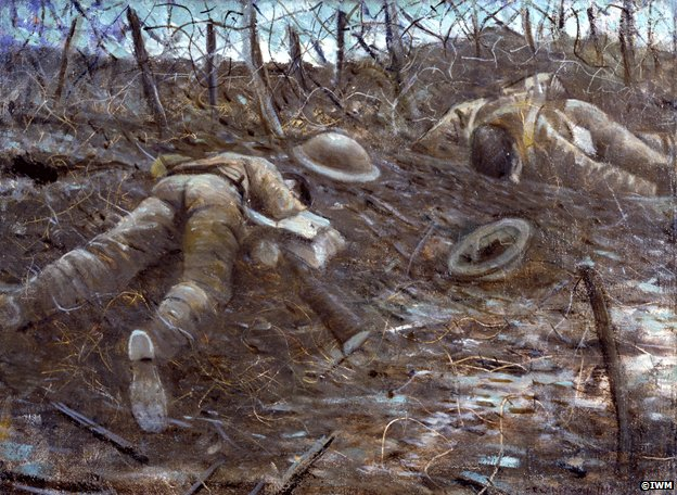 Paths of Glory by Christopher Nevinson