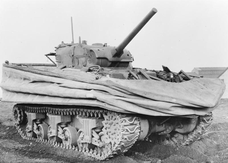 Sherman Duplex-Drive tank