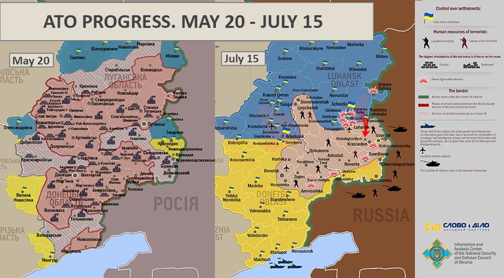 Maps Update 30002494 Map Ukraine Separatist Area Control July – Map Ukraine Fighting
