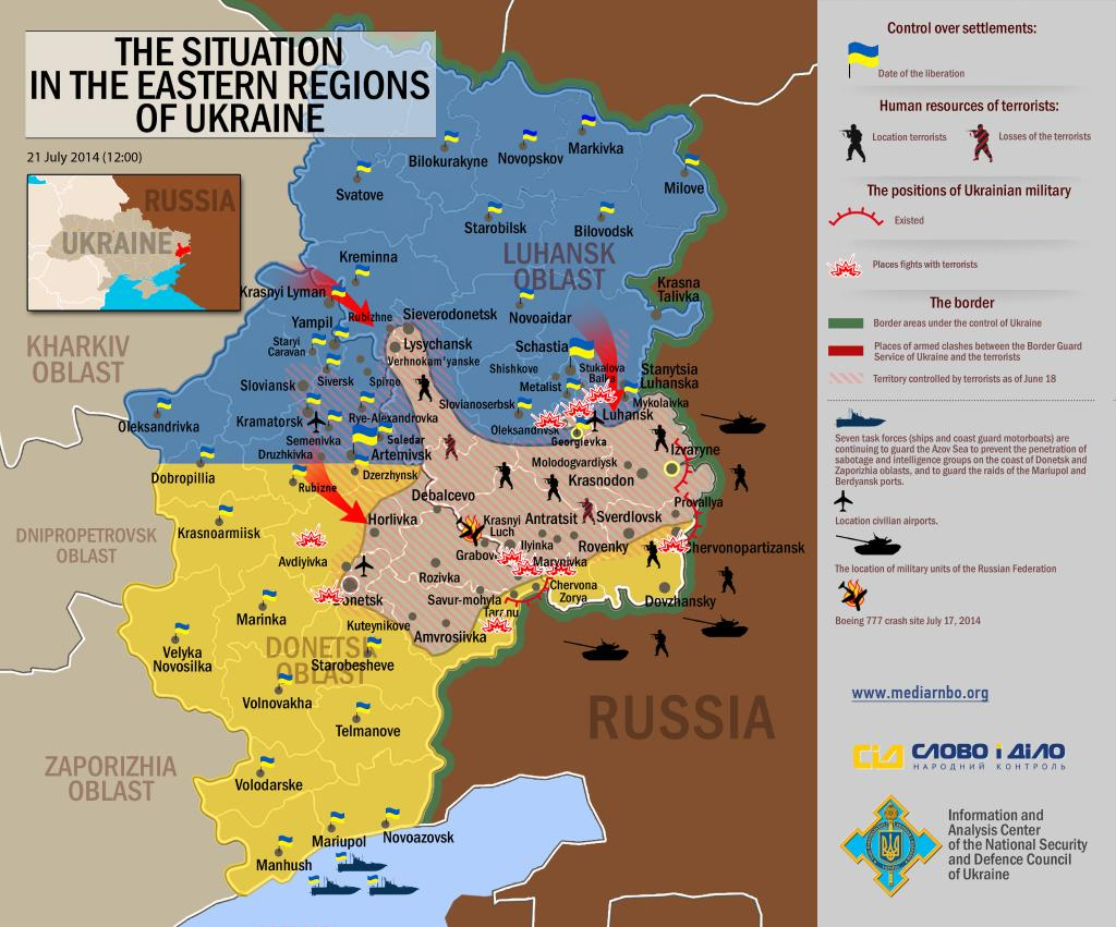 Closing the Eastern Ukraine pocket Quotulatiousness