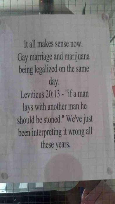Leviticus suddenly makes more sense