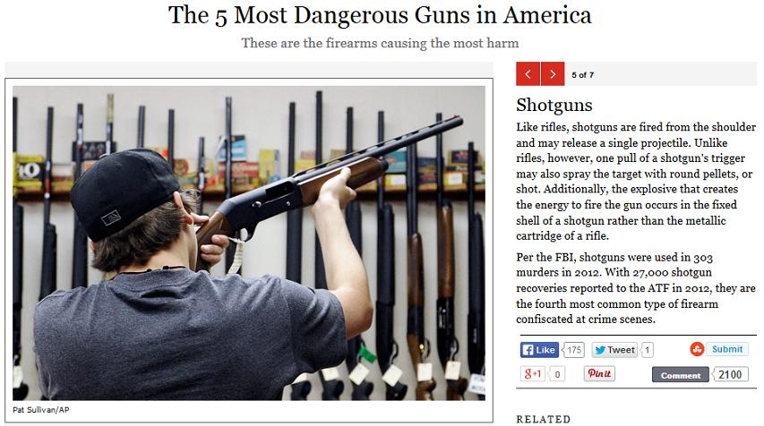 Rolling Stone dangerous guns 5