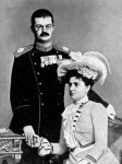 King Alexander and Queen Draga of Serbia (via Wikipedia)