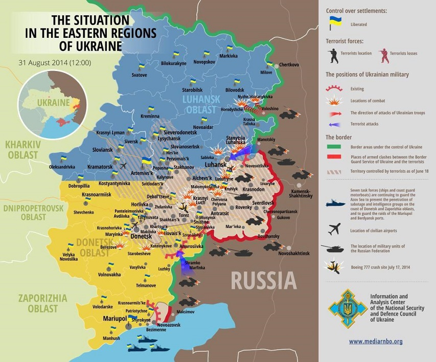 Ukraine situation 20140831