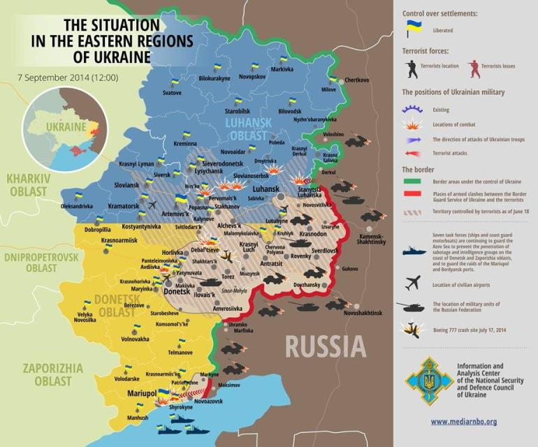 Ukraine situation 20140907