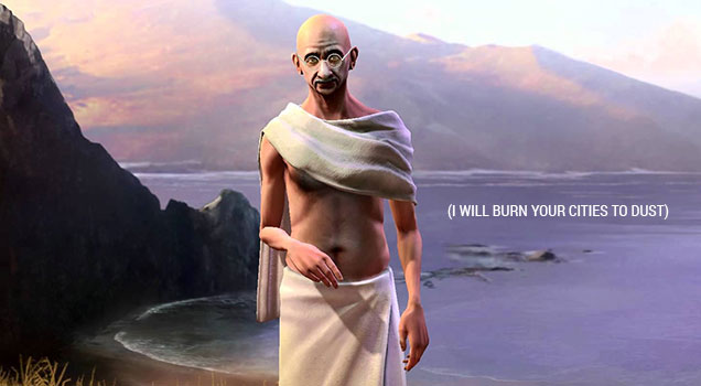 Civilization V - Gandhi