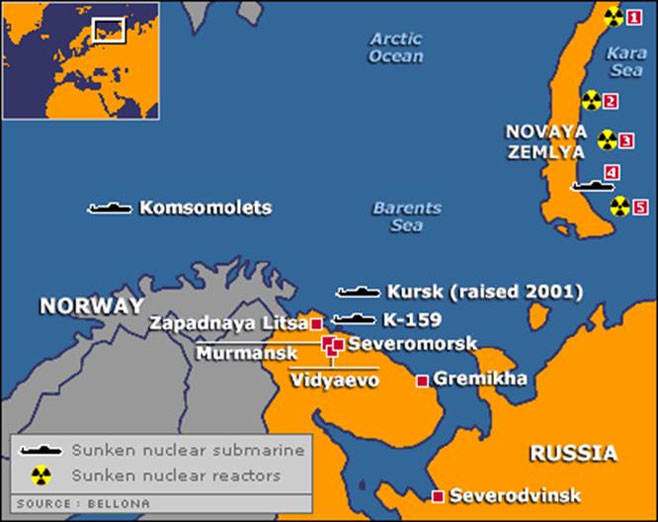 Soviet nuclear waste in the Arctic
