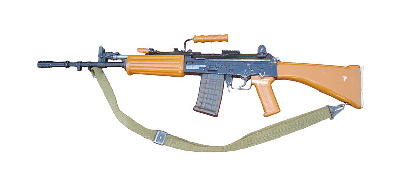 INSAS rifle (via Wikipedia)