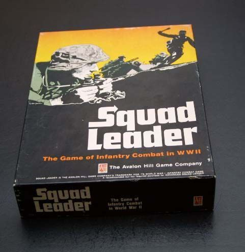 Squad Leader game box