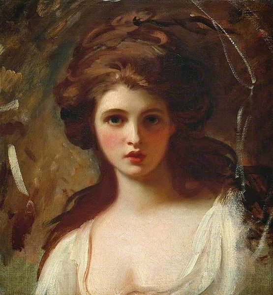 Emma Hart as Circe by George Romney 1782