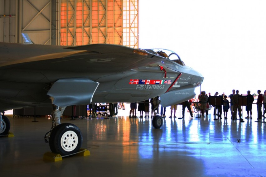 F-35 on display