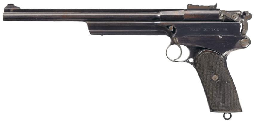 Gabbet-Fairfax MARS pistol left
