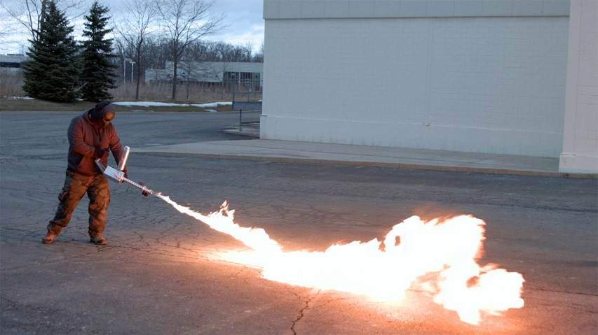 Personal flamethrower 3