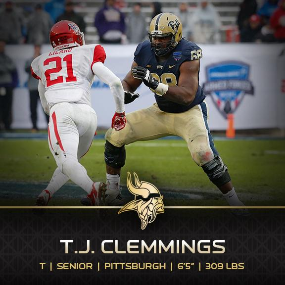 TJ Clemmings draft