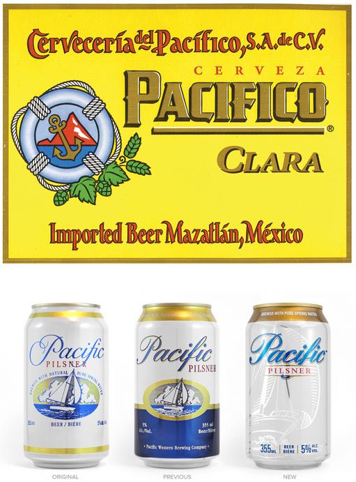 Pacific Pilsner vs Pacifico Clara Cerveza