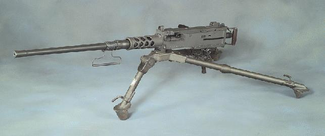 M2 machine gun (via Wikimedia)