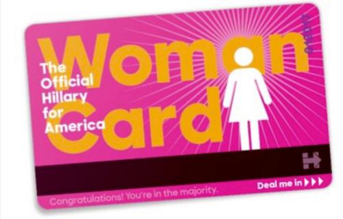 Clinton's Woman Card