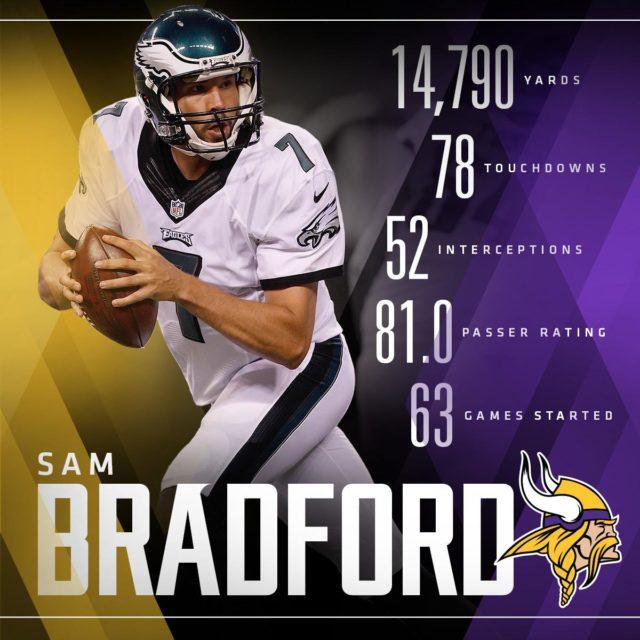 Sam Bradford stats