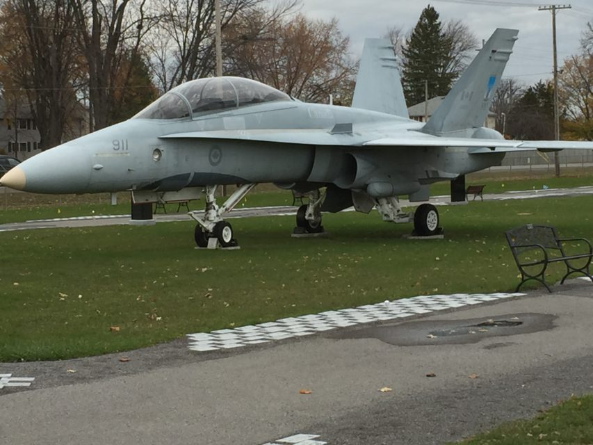 CF-18 at the National Air Force Museum of Canada in Trenton, Ontario, 2015.