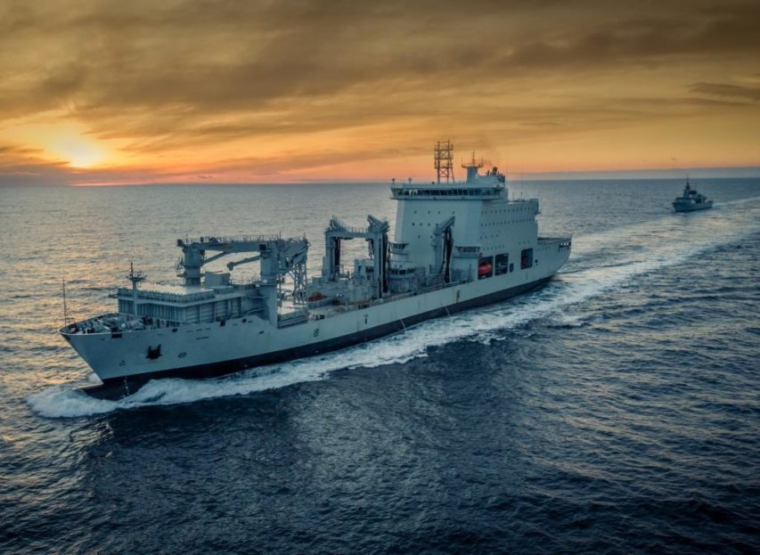 Mv Asterix Accepted By The Royal Canadian Navy