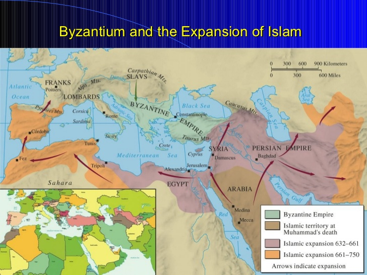 byzantine vs islam In this article, we use the phrase arts of the islamic world to emphasize that the art discussed was created in a world where islam was a dominant religion or a major cultural force but was not necessarily religious art.