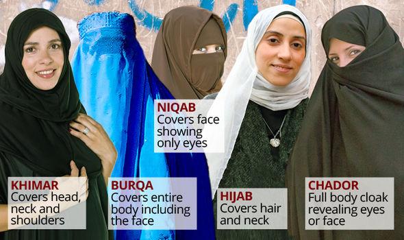 In america niqab Niqab in